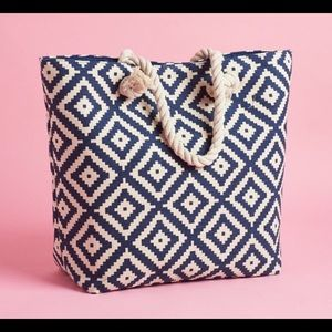Summer and Rose Diamond Tote